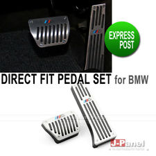 DIRECT FIT SILVER ALUMINIUM FOOT PEDAL for BMW 1 3 SERIES F20 F30 AUTOMATIC RHD