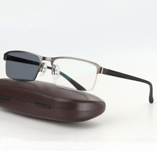 High quality Alloy Sunglasses Transition/Photochromic Reading Glasses +50 ~ +600