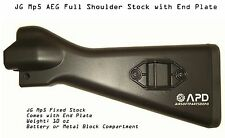 JG GE Airsoft AEG Full Shoulder Stock for Mp5 Tactical  CQB SMG Submachine Gun