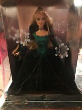 2004 Holiday Celebration Barbie Doll Emerald Green Dress Special edition NEW