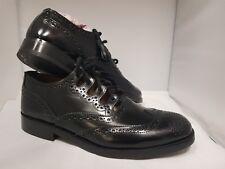 Brand New Black Ghillie Brogues Scott MacKay Mens Shoe  Size 7.5