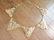 Exotic High Quality Hand made Belly Dance Professional Coin Chain Belt....GOLD