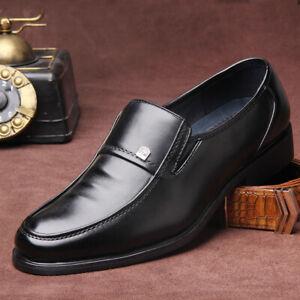 Men's Slip On Comfort Loafers Driving Business Oxford Slip Formal Moccasin Shoes