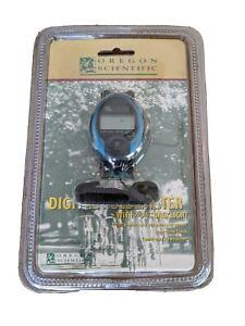 NEW OLD STOCK Oregon Scientific Digital Pulsemeter Model PM138E W/Clock Timer