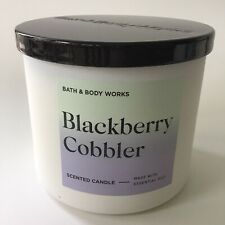 Bath & Body Works 3 Wick Candle BlackBerry Cobbler