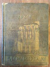 Neville High School Monroe Louisiana ORIGINAL 1962 yearbook history genealogy