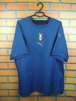 Italy Italia soccer jersey XL 2006 2008 home shirt football Puma