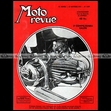MOTO REVUE N°1209 FOLLIS AMC RAVAT GUILLER RADIOR GITANE AGF ALCYON SALON 1954