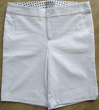 Ashworth Ladies White Golf Shorts US 6 UK Size 10
