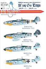 EagleCals Decals 1/48 MESSERSCHMITT Bf-109G-6 TROP Fighters