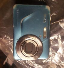 Kodak EasyShare C160 Digital Camera 9.2 MP 3X Optical Zoom Teal Blue Used