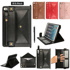 Envelop Style Leather Wallet Case Cover with Pen Pouch For iPad Mini1234/Pro 9.7