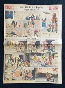 Flash Gordon Fantastic Fashions with Strip, Sunday Funnies Paper Doll, 1934