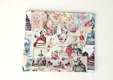 Vintage Rose Victorian ladies 100% Cotton fabric / BY HALF YARD Lady JC6/24+