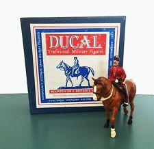 DUCAL MODELS British East Surrey Regiment Mounted Officer 317M Toy Soldier