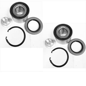 FRONT WHEEL HUB BEARING KITS FOR LEXUS IS300 TOYOTA CRESSIDA  PAIR FAST SHIPPING
