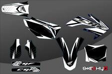 KIT ADESIVI GRAFICHE RACE ONE BLACK HONDA CRF 250 2004 2005
