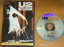 U2 RATTLE AND HUM ~ Authentic Region 1 DVD US Issue ~ VG + FREE SHIPPING