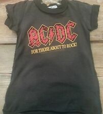Amplified Kids AC/DC T shirt; 6 months to 12 years, 11 Sizes Available
