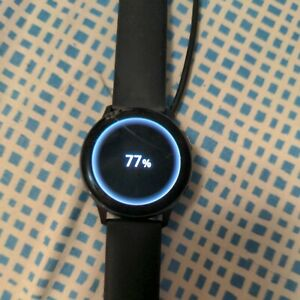 Samsung Galaxy Watch Active 2 SM-R830 40mm Aluminum Case with Sport Band Smartw…