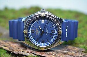 Breitling Antares World GMT Automatic Herrenuhr von 1999, Service, Ref. B32047.1