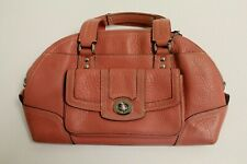 Coach Pink Color Leather Lady's Purse