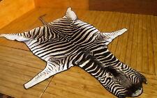Zebrafell-Steppenzebra (Eguus quagga)-Zebraskin-Rug-Fur
