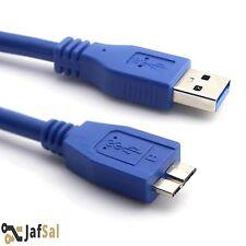 2M de alta velocidad USB 3.0 tipo A macho a B Micro M Cable de alimentación y Sincronización De Datos HDD