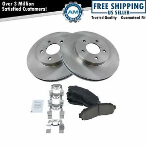 Front Ceramic Brake Pad & Disc Rotor Kit for Chevy Equinox Saturn Vue