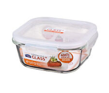 Lock & Lock Euro Glass Square Container 750ml