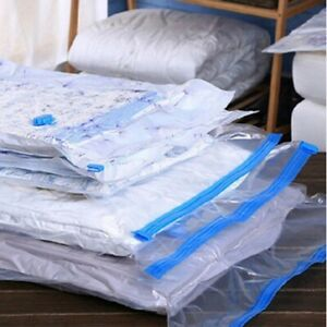 1-12X Strong Vacuum Storage Bags Space Saving Large Space Saver For Home Storage
