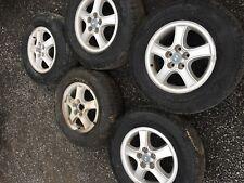 Hyundai Santa Fe Alufelgen 5 Stück Kompletträder 225/70/16 Schöne Sommerreifen