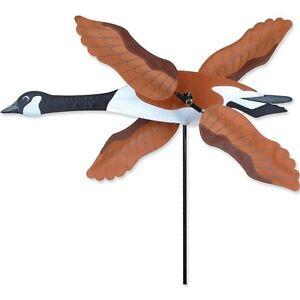"28"" CANADA GOOSE WhirliGig Wind Spinner Garden Stake by Premier Kites & Designs"