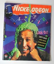 Nickelodeon Magazine Issue 1 1st First Premier Issue Pizza Hut Chevy Chase Slime