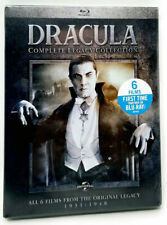 NEW Dracula Complete Legacy Collection Blu-ray 6-Films US Release MINT Condition