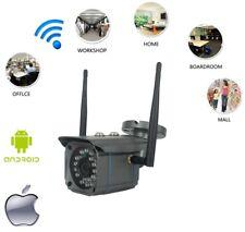 Waterproof Wireless WiFi HD 720P IP Camera Home Security CCTV Night Outdoor UK