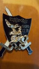 """LIONS CLUB PIN MEDAL """"KNIGHTS OF LIGHT"""" OHIO 13 B KNGHT ON HORSE w SWORDS PIN"""