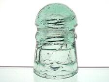 TOUGH- SWIRLY SAGE GREEN CD 102 <> DIAMOND Glass Pony Insulator