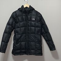 THE NORTH FACE 600 Womens Jacket Down Quilted Puffer Coat Hooded Snow Ski Small