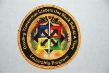 Tae Kwan Do Taekwondo Black Belt Leadership Program Martial Arts Gi Patch 528