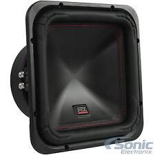 """MTX S6510-44 10"""" 1000W Peak 500W RMS Square Subwoofer Car Audio DVC - Open Box"""