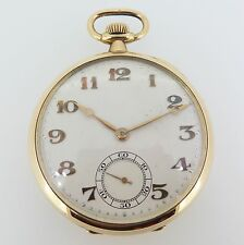 C.1926 Vintage IWC Importer 18k Gold SS Co Peerless Pocket Watch