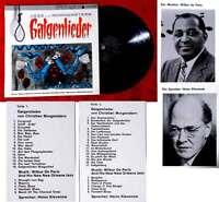 LP Heinz Klevenow: Jazz & Morgenstern Galgenlieder (Metronome MDLP 85 301) D