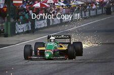 Teo Fabi Benetton B187 autrichien Grand Prix 1987 PHOTO
