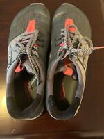 Size 10.5 Altra Men's HIIT XT 2 Training and Road Zero Drop Running Gray Orange