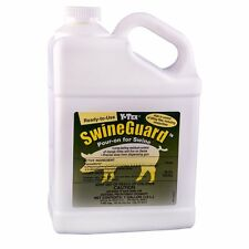 Swineguard Pour-On By Y-Tex 10% Permethrin Control Hog Mange Mites Flies Gallon