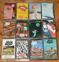 BIJELO DUGME Yugoslavia rock cassette tape lot collection 12 different