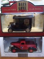 LLEDO USA Days Gone Collectors Club Edition models DG6144 Ford T LP36-12 Chevy
