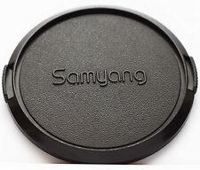 Original Samyang Front Lens Cap 72mm 72 mm Snap-on