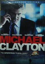 MICHAEL CLAYTON(2007)George Clooney Tilda Swinton Sydney Pollack Michael O'Keefe